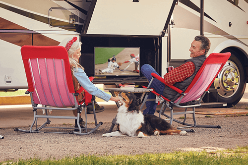 Watch DISH TV Outdoors in the RV- Marble Hill, MO - Technology One, LLC - DISH Authorized Retailer